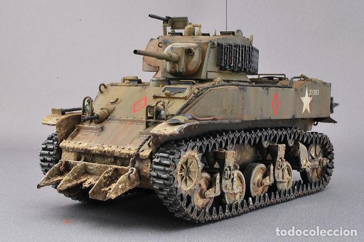 Maquetas: M5A1 STUART U.S. Light Tank 1:35 TAMIYA maqueta carro - Foto 11 - 195311066