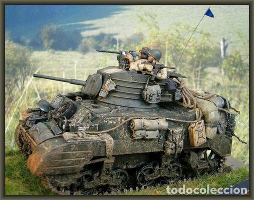 Maquetas: M5A1 STUART U.S. Light Tank 1:35 TAMIYA maqueta carro - Foto 12 - 195311066