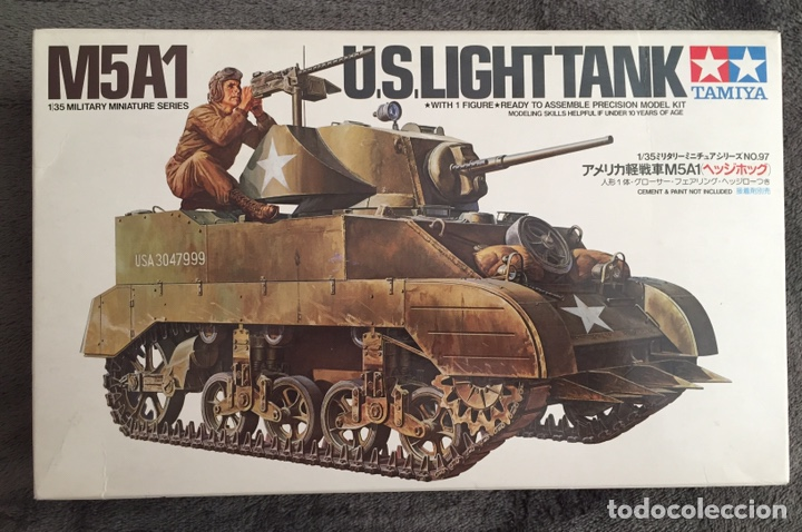M5A1 STUART U.S. LIGHT TANK 1:35 TAMIYA MAQUETA CARRO (Juguetes - Modelismo y Radiocontrol - Maquetas - Militar)