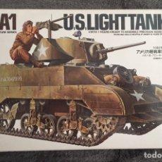 Maquetas: M5A1 STUART U.S. LIGHT TANK 1:35 TAMIYA MAQUETA CARRO. Lote 195311066