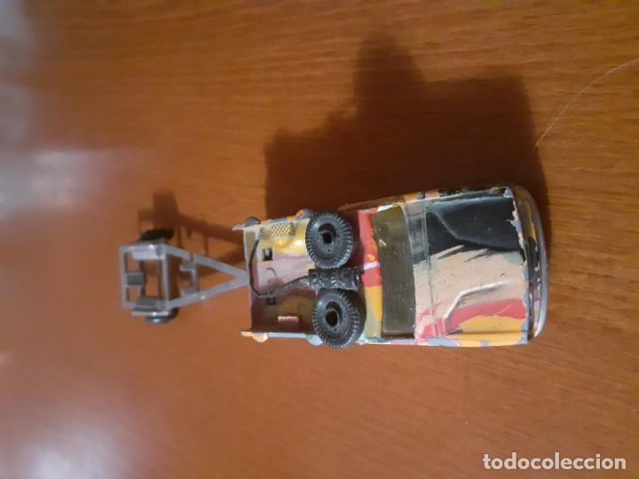 Maquetas: coche metalico con remolque años 70 Majorette - Foto 2 - 195345281