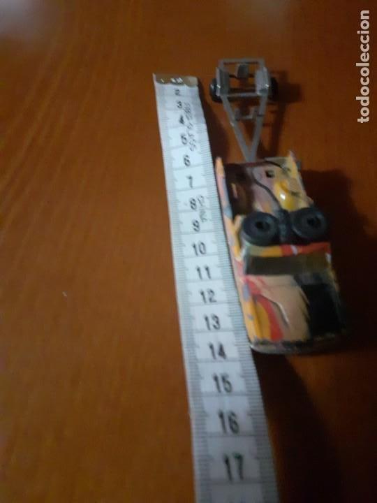 Maquetas: coche metalico con remolque años 70 Majorette - Foto 4 - 195345281