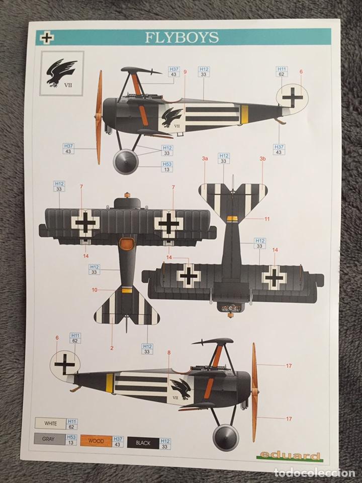Maquetas: FOKKER Dr.I (Edición limitada película FLYBOYS) 1:72 EDUARD 2103 maqueta avión WWI - Foto 2 - 195356062