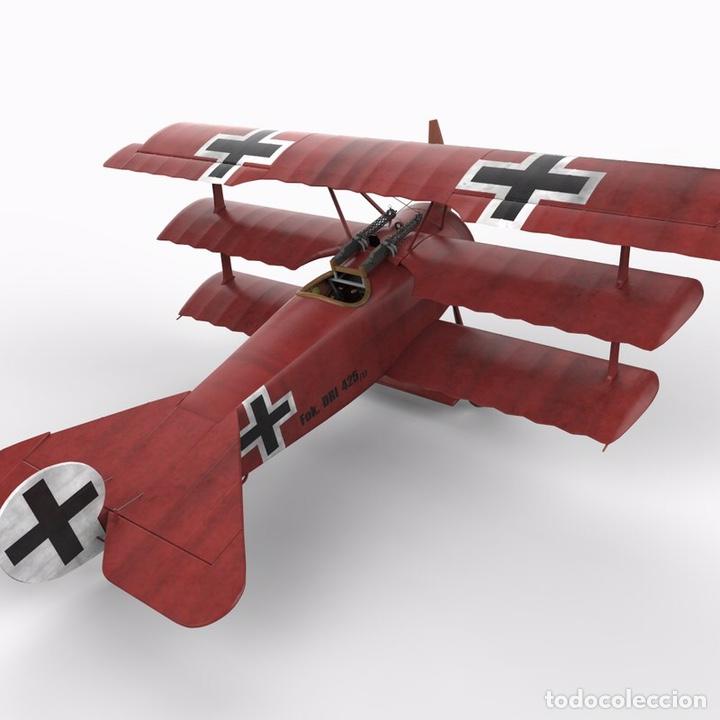 Maquetas: FOKKER Dr.I (Edición limitada película FLYBOYS) 1:72 EDUARD 2103 maqueta avión WWI - Foto 6 - 195356062
