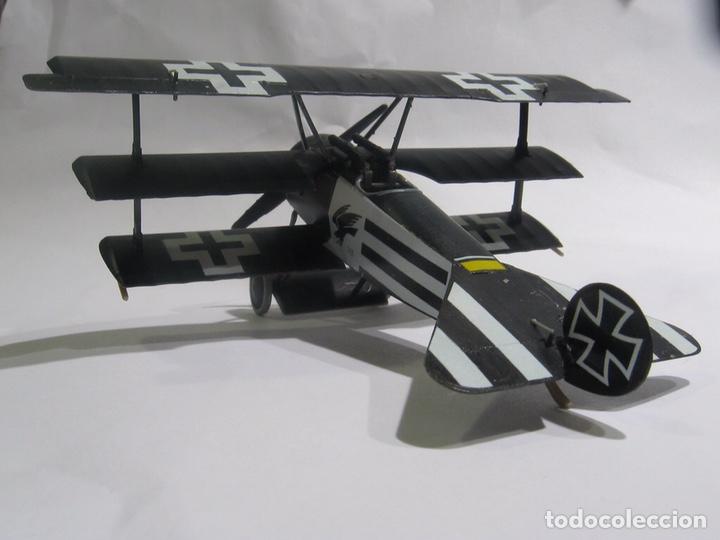 Maquetas: FOKKER Dr.I (Edición limitada película FLYBOYS) 1:72 EDUARD 2103 maqueta avión WWI - Foto 7 - 195356062