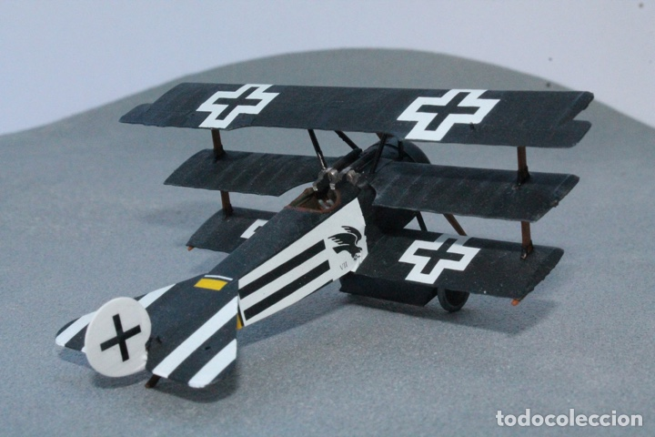 Maquetas: FOKKER Dr.I (Edición limitada película FLYBOYS) 1:72 EDUARD 2103 maqueta avión WWI - Foto 8 - 195356062