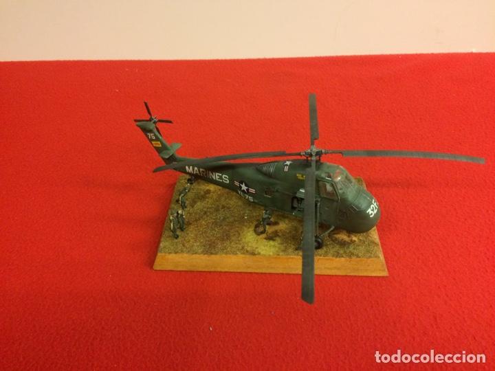 """MINI DIORAMA """"RECOGIDA EN VIETNAM"""" (Juguetes - Modelismo y Radio Control - Maquetas - Aviones y Helicópteros)"""