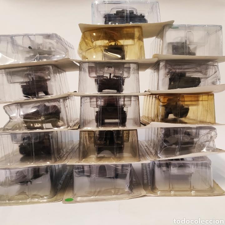 16 CARROS DE COMBATE TANQUES METAL - ANDREA MINIATURES - MAQUETA SALVAT (Juguetes - Modelismo y Radiocontrol - Maquetas - Militar)