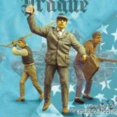 Maquetas: WWII REBELDES PRAGA 3 FIGURAS CIVILES 1/35 RESINA ACCESORIOS DIORAMA. Lote 195434641