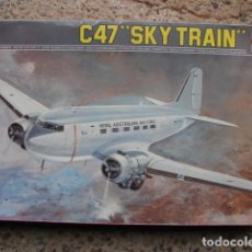 Maquetas: MAQUETA ESC: 1/72 DEL AVIÓN C47 SKY TRAIN - ROYAL AUSTRALIAN AIR FORCE - ESCI . Lote 195461978