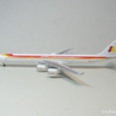 Maquetas: AIRBUS A340-600 IBERIA,EC-JCY, 1:400, HOGAN. Lote 195476467