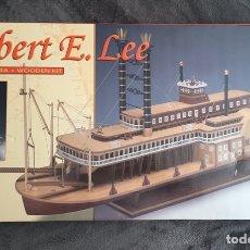 Maquetas: ROBERT. E. LEE (WOODEN KIT) 1:48 CONSTRUCTO BARCO EN MADERA MAQUETA. Lote 195532328