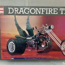 Maquetas: REVELL DRAGONFIRE TRIKE. NUEVO. INTERIOR PRECINTADO. ESCALA 1/8. REF 07979. 1995. ARTÍCULO ÚNICO.. Lote 195597372