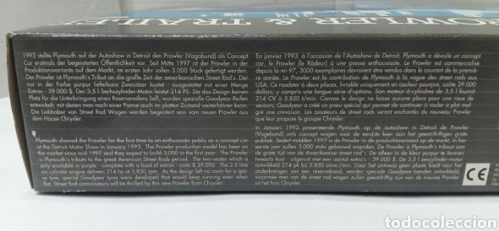 Maquetas: REVELL 97 PLYMOUTH PROWLER & TRAILER. NUEVO. PRECINTADO. ESCALA 1/25. REF 07312. 1997. NIVEL 3. - Foto 7 - 195621830