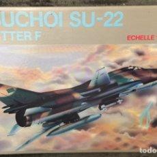 Maquetas: SUKHOI SU-17/22 1:72 HOBBY CRAFT HC 1387 MAQUETA AVION. Lote 195636606