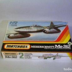 Maquetas: MATCHBOX #40021. ESCALA 1:72 AVION MESSERSCHMITT ME 262 AÑOS 90. MAQUETA PARA MONTAR. Lote 195713777