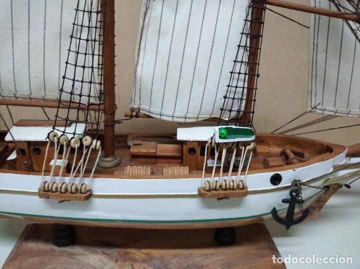 Maquetas: Maqueta barco de madera Letoile. Medidas largo 49cm x 45cm altura. - Foto 7 - 195717786