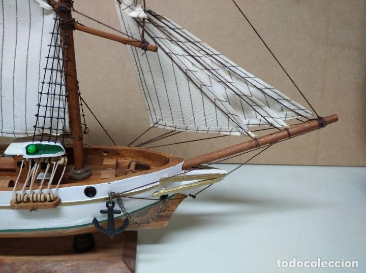 Maquetas: Maqueta barco de madera Letoile. Medidas largo 49cm x 45cm altura. - Foto 8 - 195717786