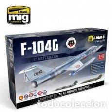 Maquetas: AMMO - F-104G 104 ESCUADRON NO LE BUSQUES TRES PIES .... CALCAS ESPAÑOLAS 1/48 8504. Lote 195849691