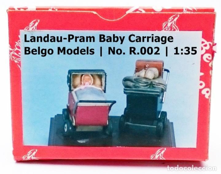 Maquetas: BELGO MODELS Nº R 002 BABY CARRIAGE LANDAU - PRAM / ESCALA 1/35 - OBSOLETO - Foto 3 - 93625265