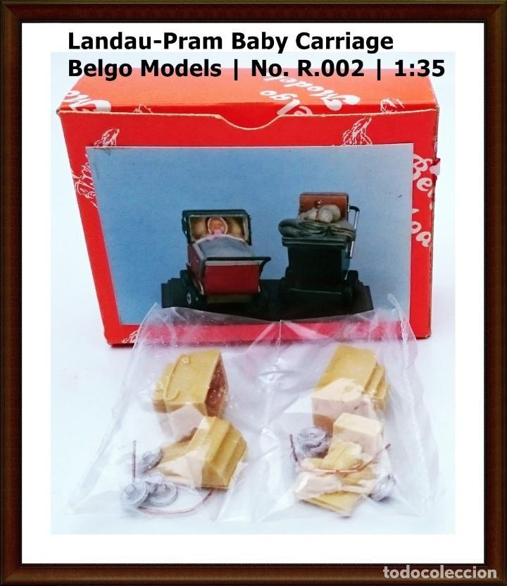 BELGO MODELS Nº R 002 BABY CARRIAGE LANDAU - PRAM / ESCALA 1/35 - OBSOLETO (Juguetes - Modelismo y Radiocontrol - Maquetas - Otras Maquetas)