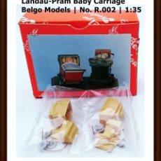 Maquetas: BELGO MODELS Nº R 002 BABY CARRIAGE LANDAU - PRAM / ESCALA 1/35 - OBSOLETO. Lote 93625265