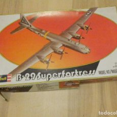 Maquetas: MAQUETA REVELL MOD. 4301 - AVIÓN B-29 SUPERFORTRESS - ESCALA SIN DETERMINAR. Lote 196170643