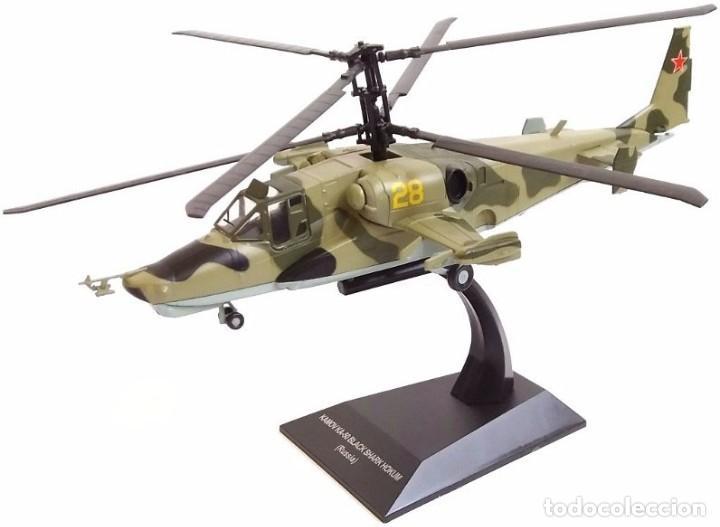 HELICÓPTERO RUSIA KAMOV KA-50 BLACK SHARK HOKUM, RUSIA, 2006, 1:72 (Juguetes - Modelismo y Radio Control - Maquetas - Aviones y Helicópteros)