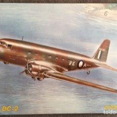 Maquetas: DOUGLAS DC-2 (CALCAS ESPAÑOLAS GUERRA CIVIL) 1:72 MPM 72091 MAQUETA AVIÓN. Lote 196633111