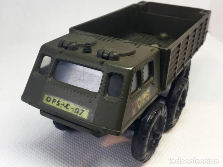 Maquetas: Vehículo militar Solido BERLIET AUROCHS REF 214 6/67 - Foto 2 - 197033862