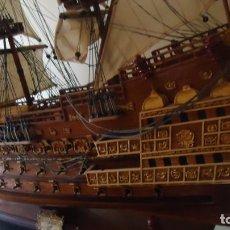 Maquetas: MAQUETA DEL GALEÓN INGLÉS SOVEREING OF THE SEAS DE 1637. Lote 197145007