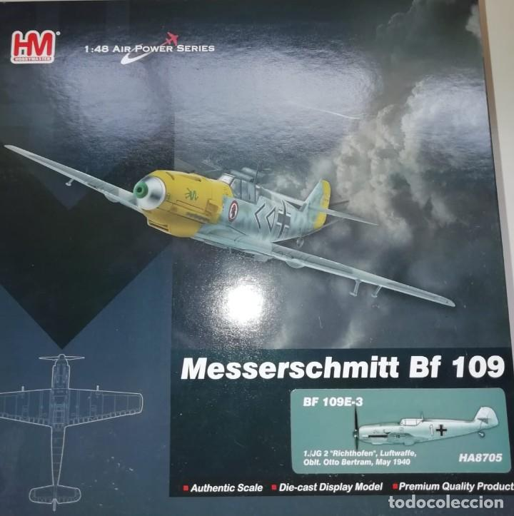 Hobby Master HA8705 1//48 Bf 109E-3 1.JG 2 Richthofen Oblt Otto Bertram Mayo de 1940