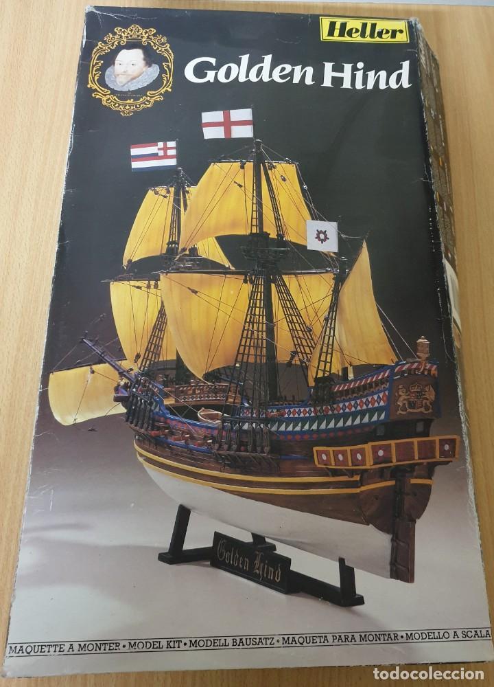 MAQUETA GOLDEN HIND HELLER REF. 80829 1.200 (Juguetes - Modelismo y Radiocontrol - Maquetas - Barcos)