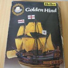 Maquetas: MAQUETA GOLDEN HIND HELLER REF. 80829 1.200. Lote 197741033