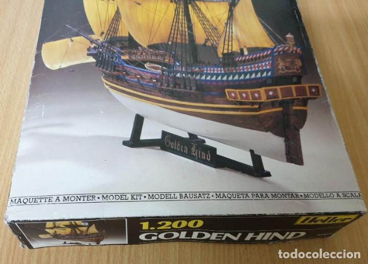 Maquetas: MAQUETA GOLDEN HIND HELLER REF. 80829 1.200 - Foto 3 - 197741033