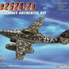 Maquettes: HOBBYBOSS 1/72 MESSERSCHMITT ME262 A-2A IT: 80248. Lote 197770043