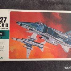 Maquetas: MIG-27 FLOGGER D 1:72 HASEGAWA MAQUETA AVIÓN. Lote 198013958