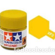 Maquetas: TAMIYA - PINTURA AMARILLO MATE XF3. Lote 218254295