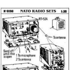 Maquetas: VERLINDEN - NATO RADIO SETS 1/35 198. Lote 218446133
