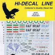 Maquettes: HI-DECAL LINE - RF-4C PHANTOM II 1/72 72-053. Lote 198709838