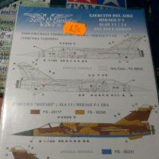 Maquetas: SERIES ESPAÑOLAS - EJERCITO DEL AIRE MIRAGE F-1 ALAS 11/14 462 ESCUADRON 1/48 . Lote 198852537