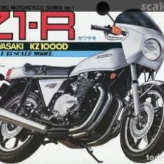 Maquetas: MAQUETA UNION 1/15 - KAWASAKI KZ 1000D Z1-R - INCOMPLETA. Lote 198856992
