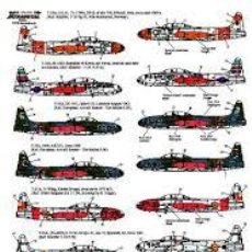 Maquetas: XTRADECAL - LOCKHEED T-33A FOREIGN OPERATORS VARIOS PAISES ESPAÑA 1/72 X72122. Lote 198964130