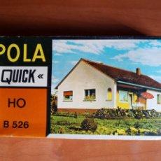 Maquetas: POLA QUICK H0. CASA B 526. Lote 199041448