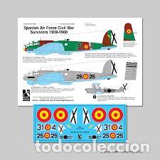 BLUE RIDER - SPANISH AIR FORCE CIVIL WAR SURVIVORS 1939-1960 HE-111 1/72 BR408 (Juguetes - Modelismo y Radio Control - Maquetas - Aviones y Helicópteros)