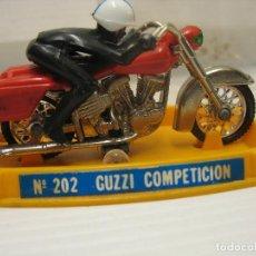 Maquetas: MOTO GUZZI DE COMPETICION 202. Lote 199167657