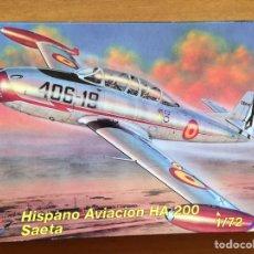 Maquetas: HISPANO AVIACION HA-200 SAETA 1:72 MPM 72083 MAQUETA AVION. Lote 199175460