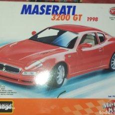 Maquetas: MASERATI 3200 GT 1998. BURAGO.. Lote 199708121