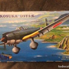 Maquetas: YOKOSUKA D3Y1 K 1:72 VALOM 72002 MAQUETA AVION. Lote 199719578