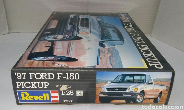 Maquetas: REVELL 97 FORD F - 150 PICKUP. NUEVO. PRECINTADO. ESCALA 1/25. REF 07301. 1996. NIVEL 4 DIFICULTAD. - Foto 5 - 195621110